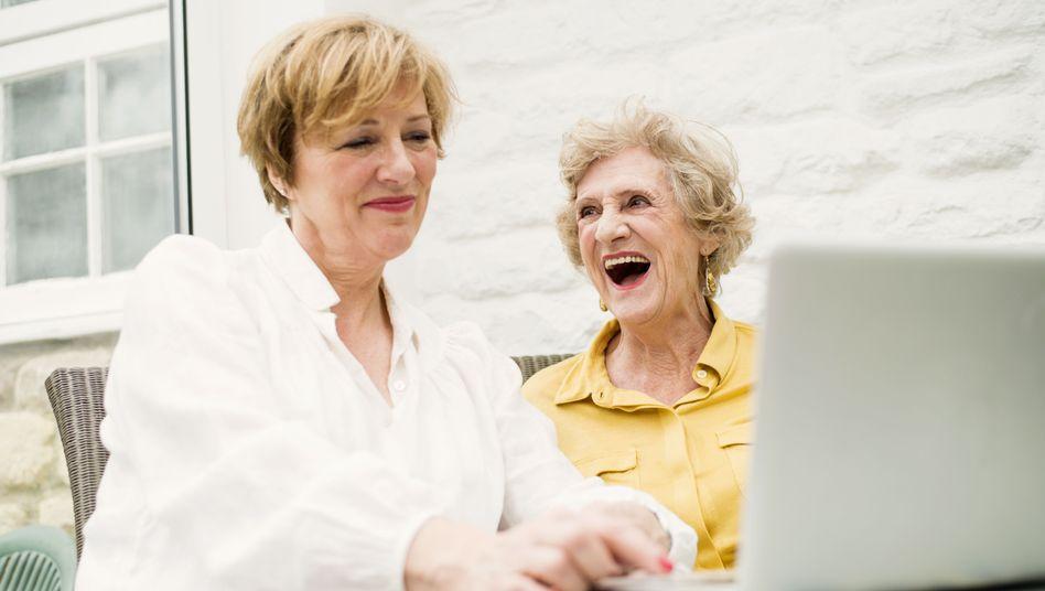 Lachen auf Rezept: Steigert ein lustiger Film die Gesundheit?