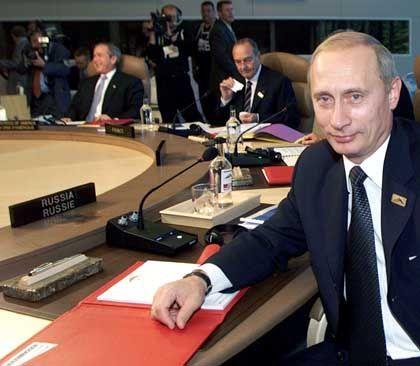G-8 Gipfel Kanada: Russlands Präsident Putin will den Westen nicht verlieren.