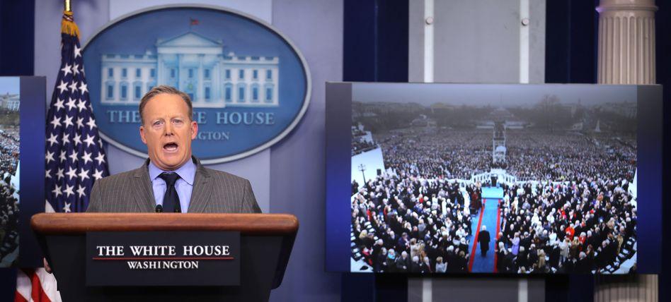Pressesprecher des White House Sean Spicer