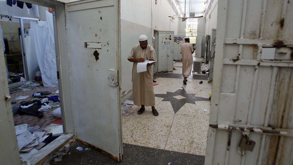 Das Abu-Salim-Gefängnis: Hier ließ Gaddafi seine Gegner foltern