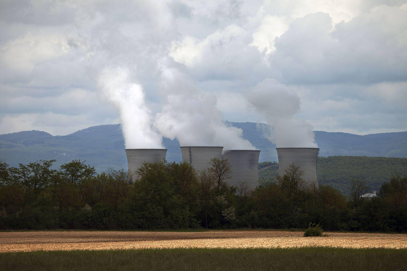 EINMALIGE VERWENDUNG Frankreich/ Atomkraft