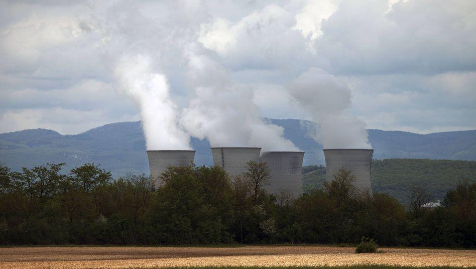 Atomkraftwerk in Saint-Vulbas