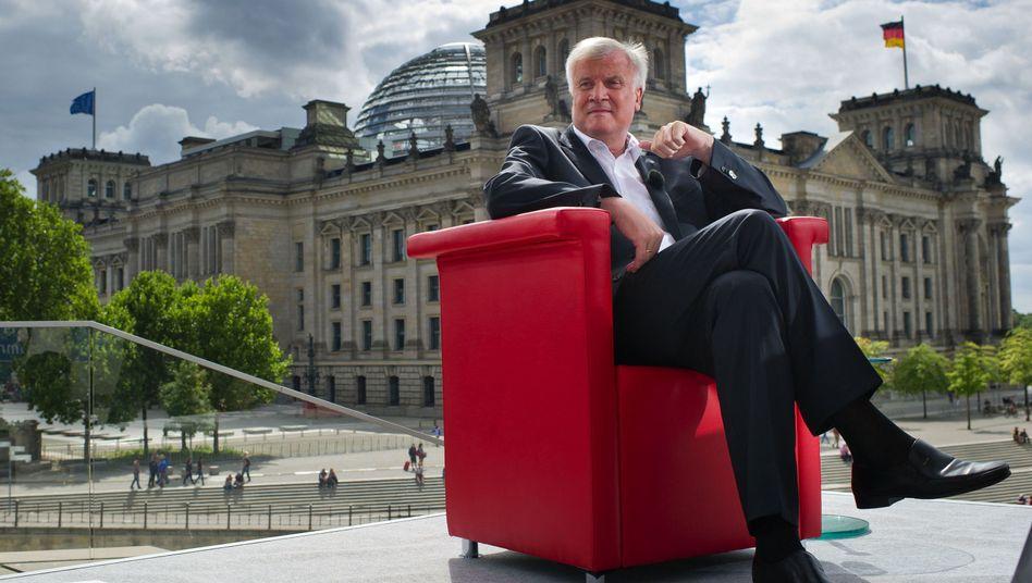 """CSU-Chef Horst Seehofer (im ARD-Sommerinterview): """"Sie werden sehen, es wird gut ausgehen"""""""