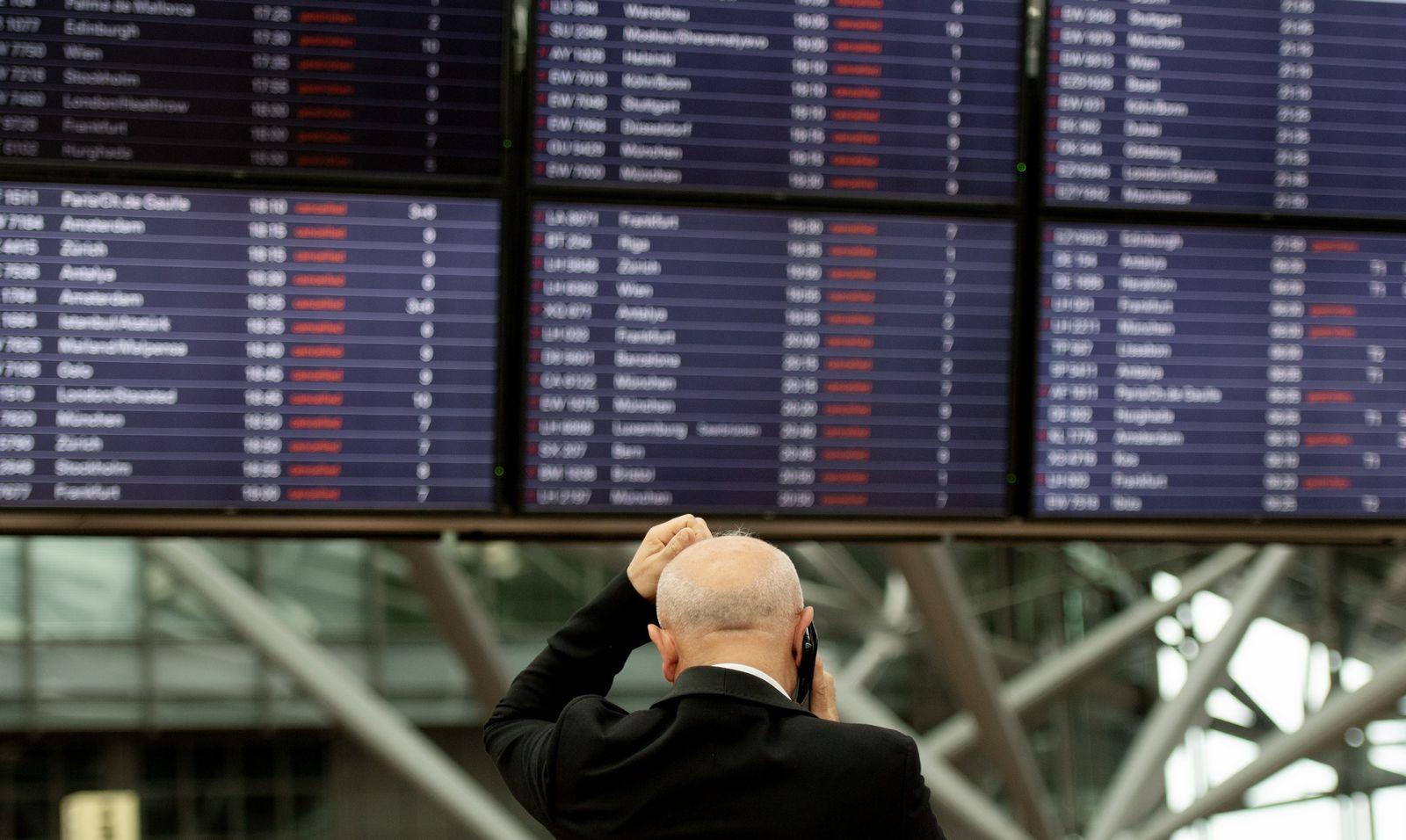 Stromausfall am Flughafen Hamburg