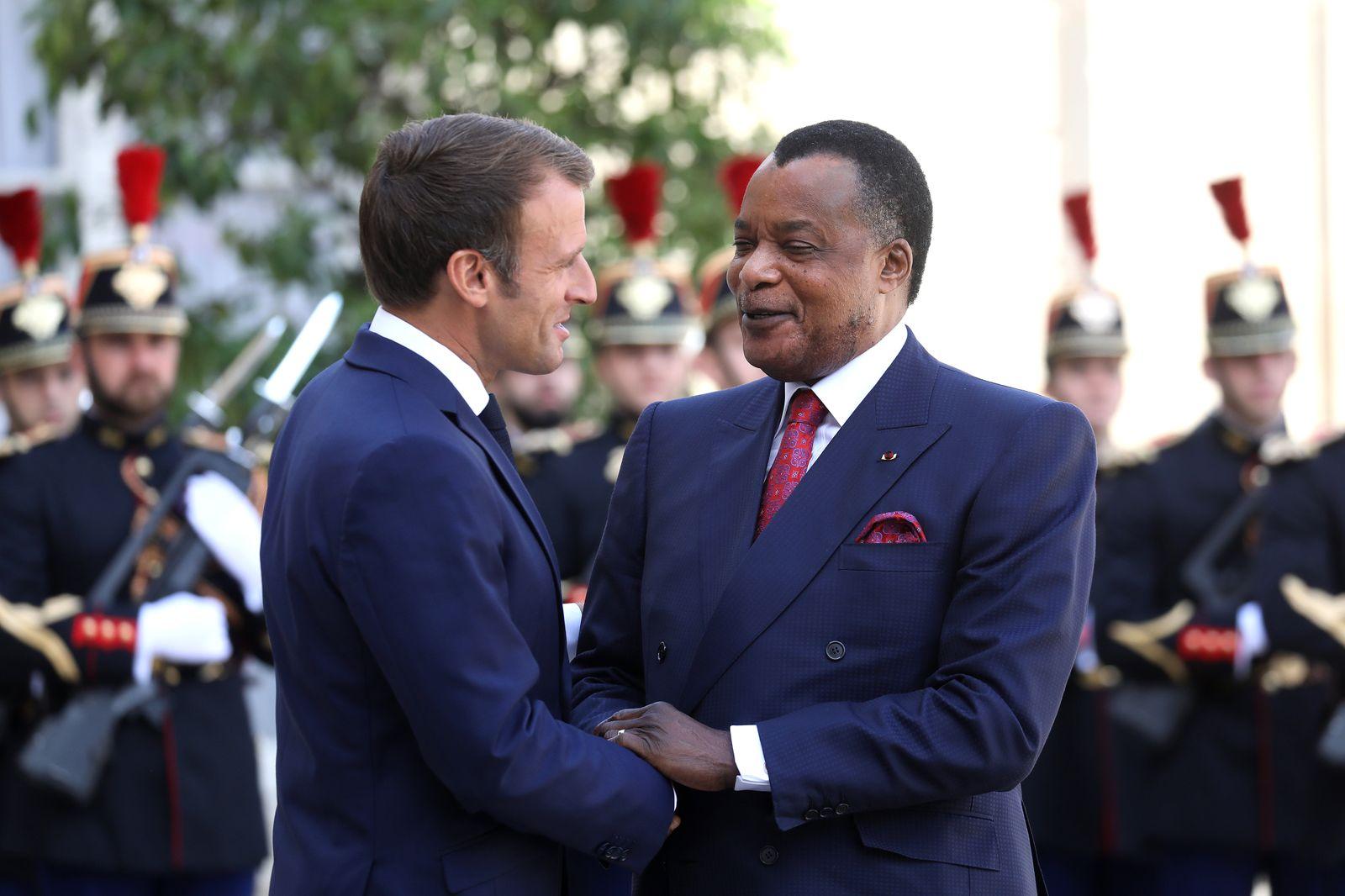 FRANCE-CONGO-POLITICS-DIPLOMACY