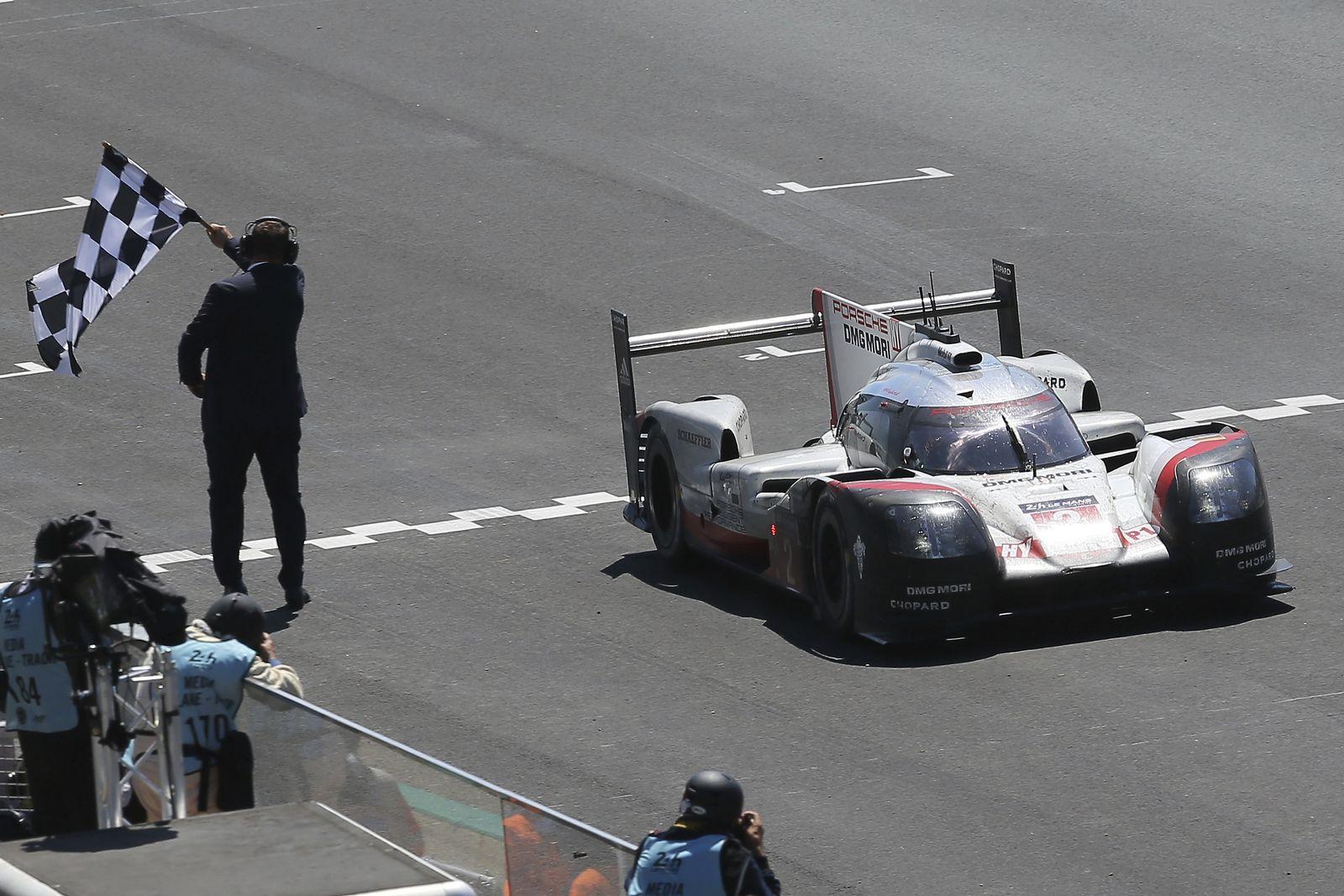 Porsche bei Le Mans