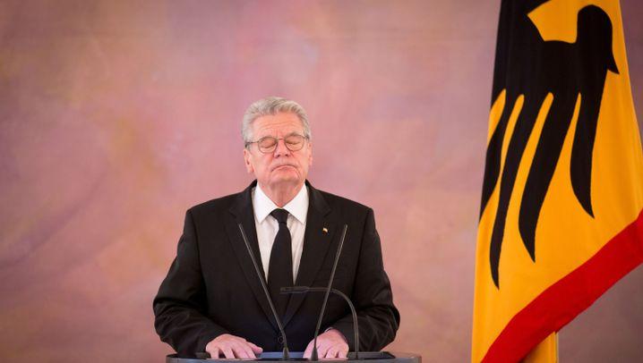 Gaucks Amtszeit in Bildern: Weltreisen des Konsenspräsidenten
