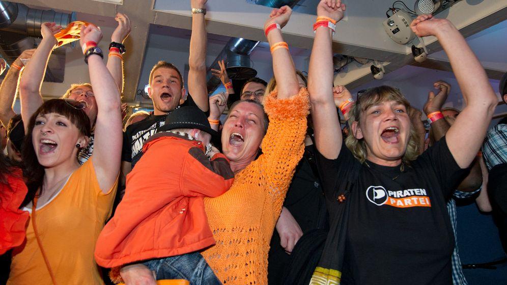 Piratenpartei im Saarland: Jubel bei den Newcomern