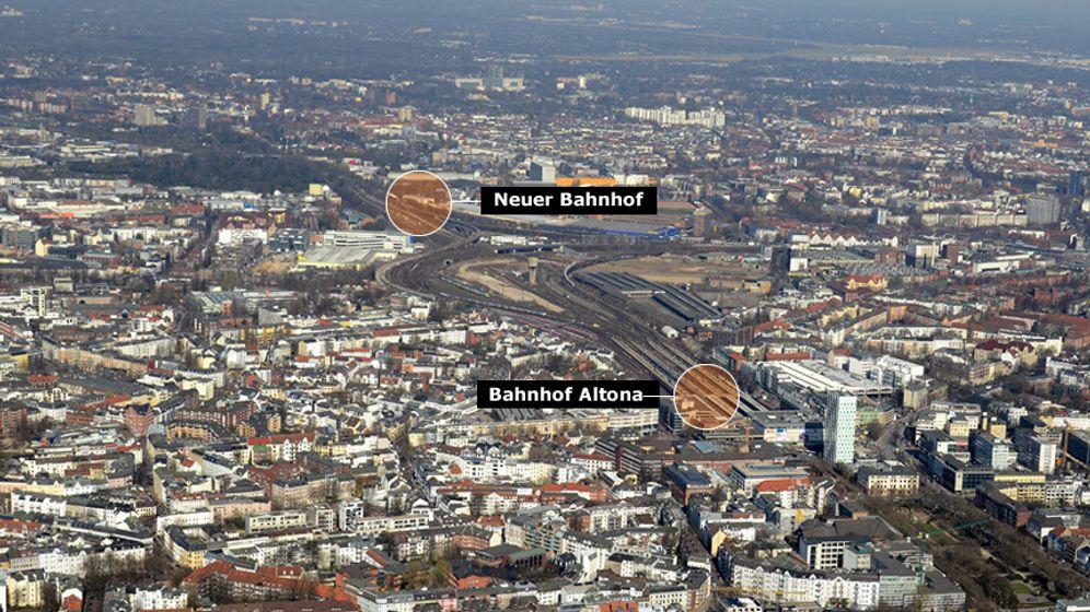 Hamburger Bahnhof Altona: Wohin geht die Reise?