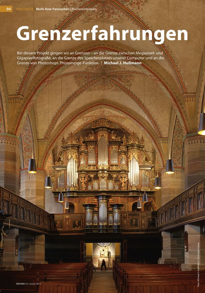 Die Kirche St. Vincenz: Glanz und Gloria in hoher Auflösung