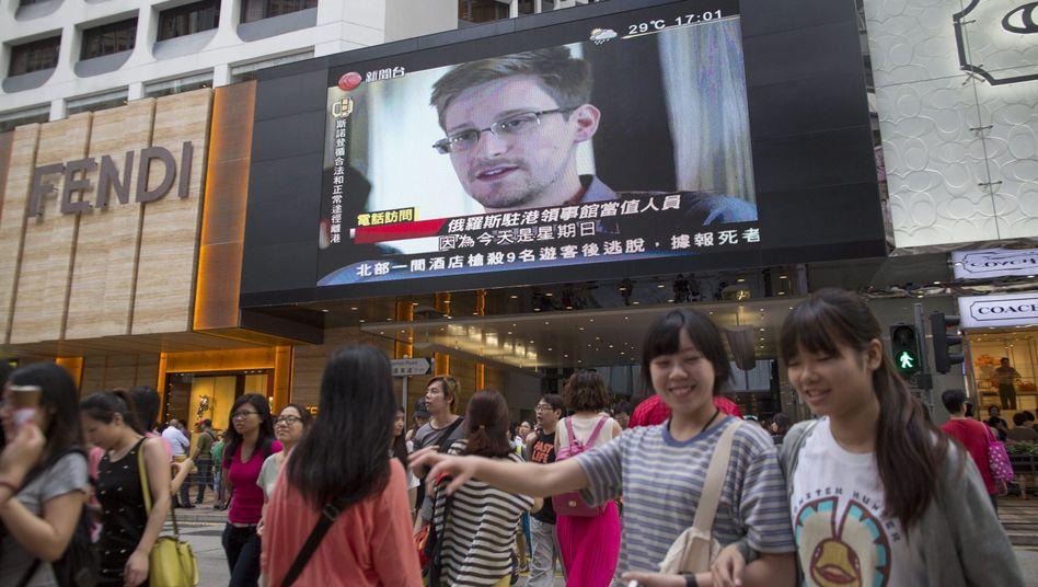 """Ex-NSA-Mitarbeiter Snowden: """"Russland und China haben keine US-Geheimdokumente"""""""