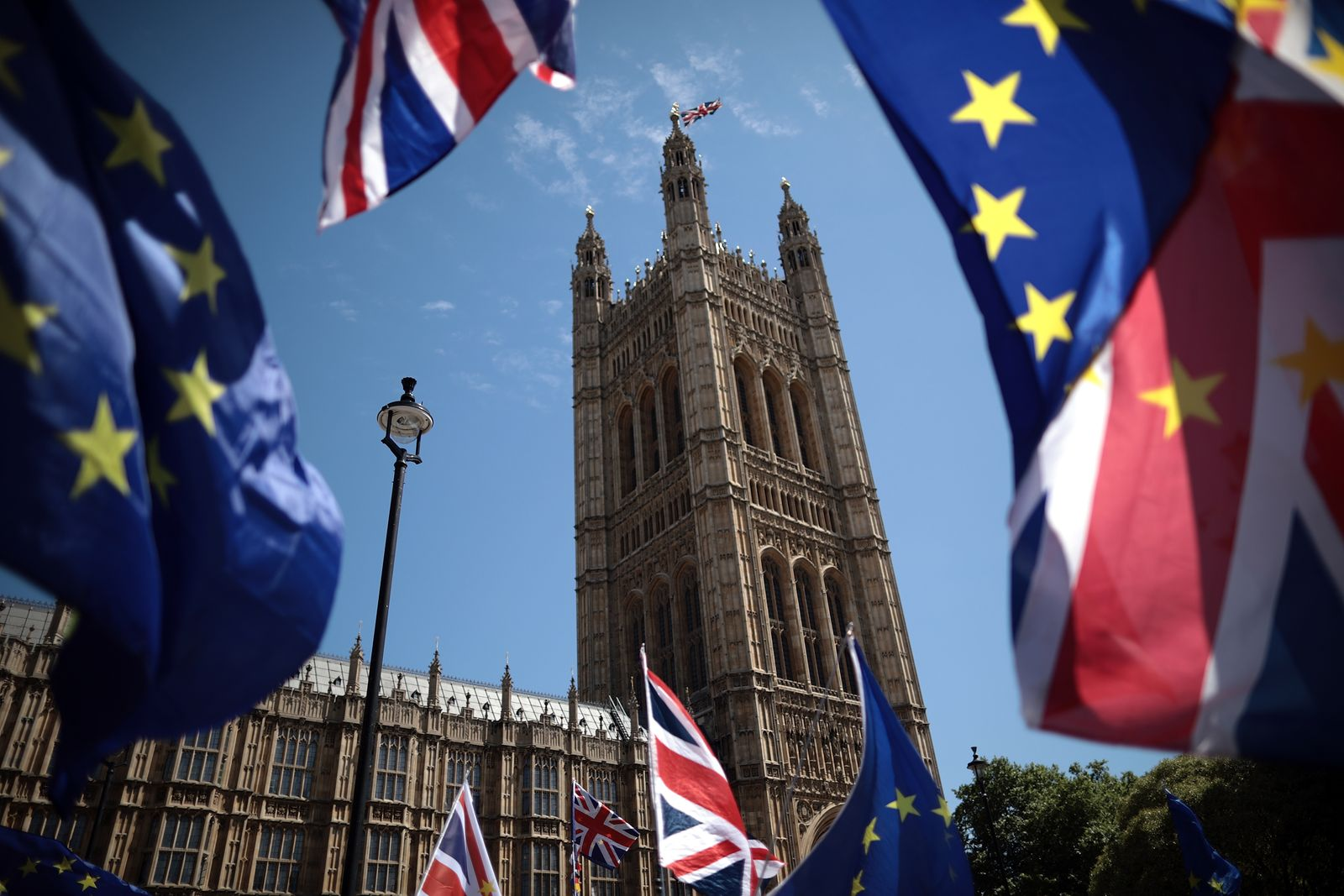 Stop Brexit Supporters Rally Ahead Of Parliament Voting On Lords' Amendments
