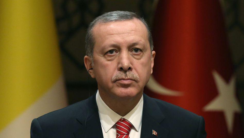 Präsident Erdogan: Vorwurf der Korruption