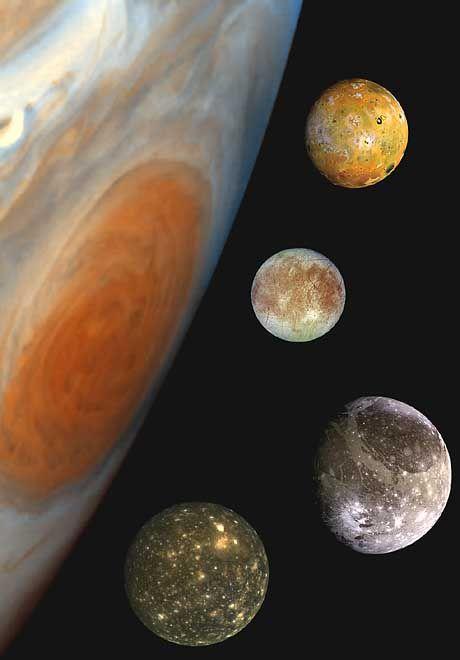 Jupiter-Monde: Auf ihnen wurden bereits in der Vergangenheit Ozeane vermutet
