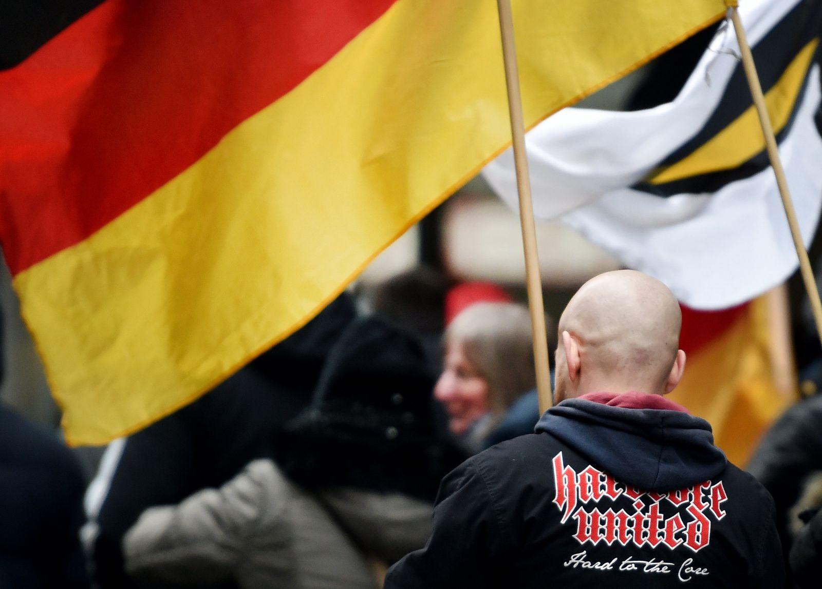 """Demonstration """"Die Rechte"""""""