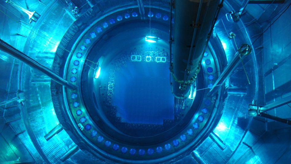 Druckbehälter im Atomkraftwerk Isar 2: Bei Bedarf Atomstrom aus dem Ausland