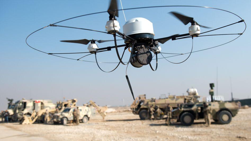 Bundeswehr-Drohne: Wieviel Geld deutsche Unis für Rüstungsforschung ausgeben, kann die Linke nicht aufklären
