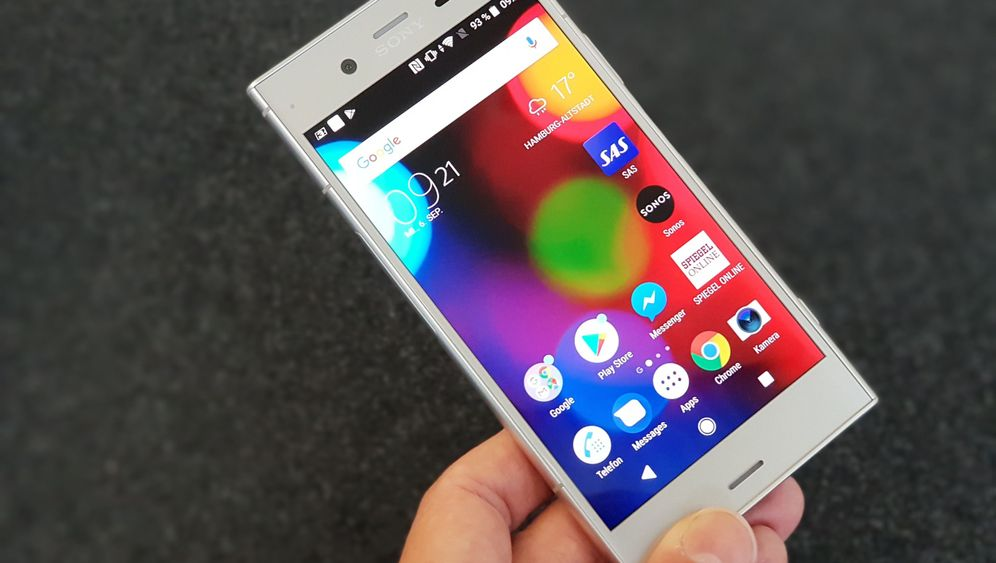Smartphone mit Android 8.0 Oreo: Sony Xperia XZ1 im Test