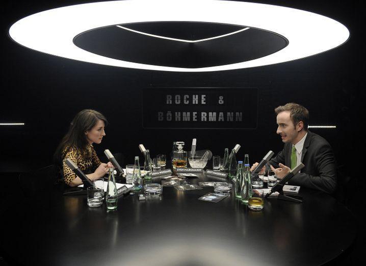 Charlotte Roche und Jan Böhmermann: Promo-Gespräche, nein danke