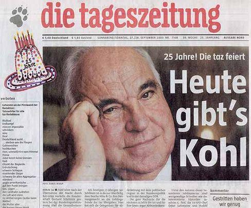 """Feindliche Übernahme: 25 Jahre """"taz"""""""