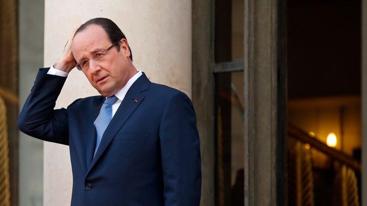 Gerüchte um Hollande: Präsident auf dem Motorroller?