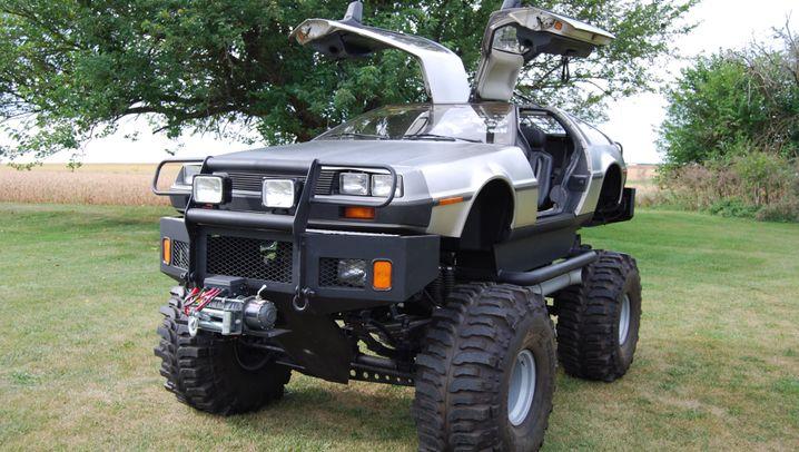 DeLorean-Umbauten: Zeitreisen im Monstertruck