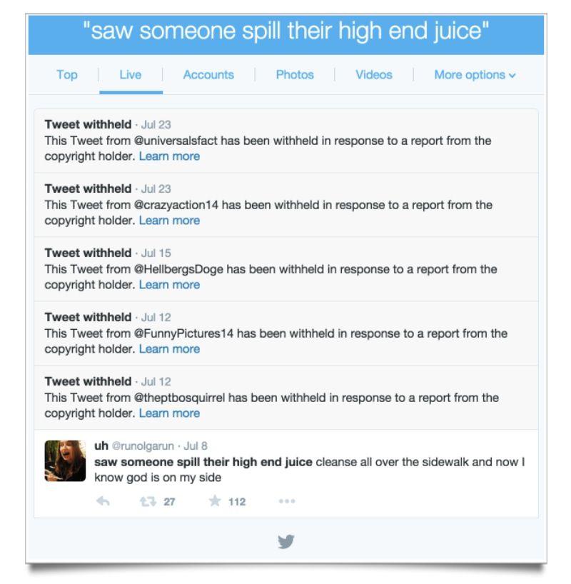 EINMALIGE VERWENDUNG Twitter/ Screenshot