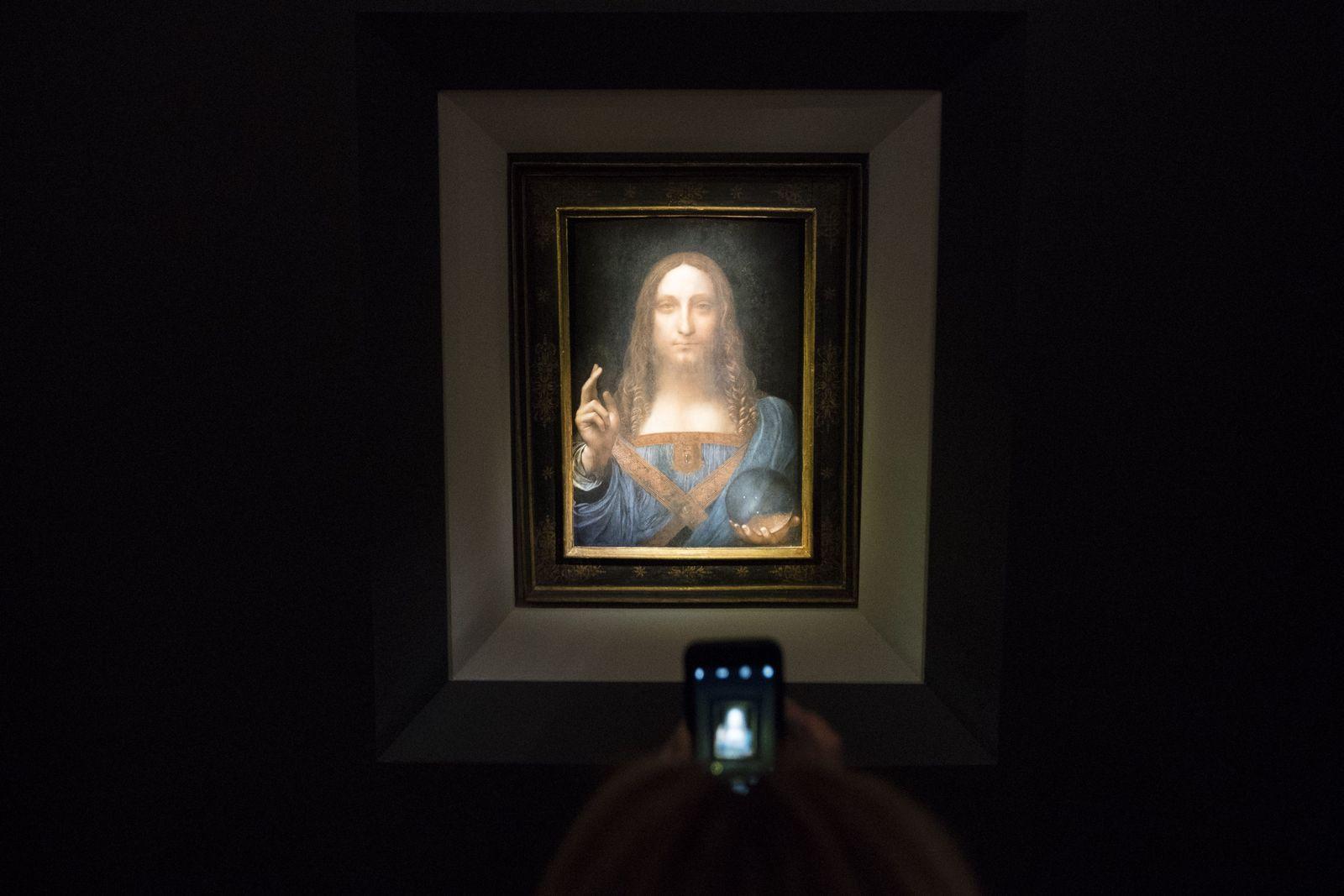 Salvator Mundi / Leonardo da Vinci