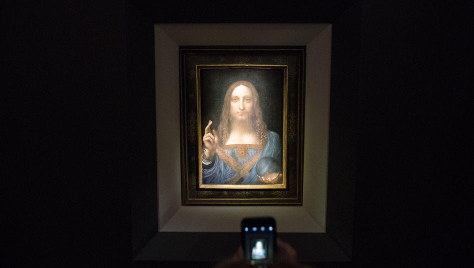 """ Salvator Mundi"" von Leonardo da Vinci"