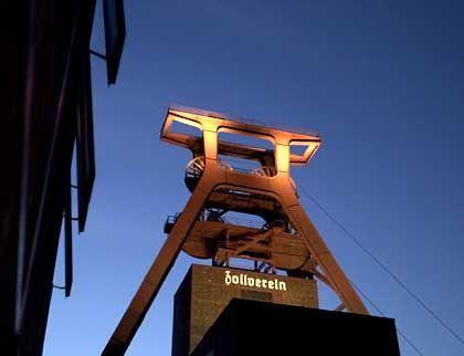 """Stillgelegte """"Zeche Zollverein"""" in Essen: Ruhrgebiet als Kulturstätte"""