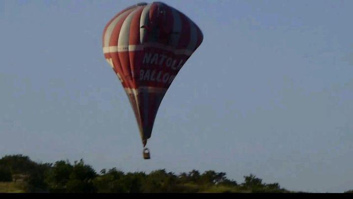 Nach Kollision: Zwei Tote bei Heißluftballon-Absturz