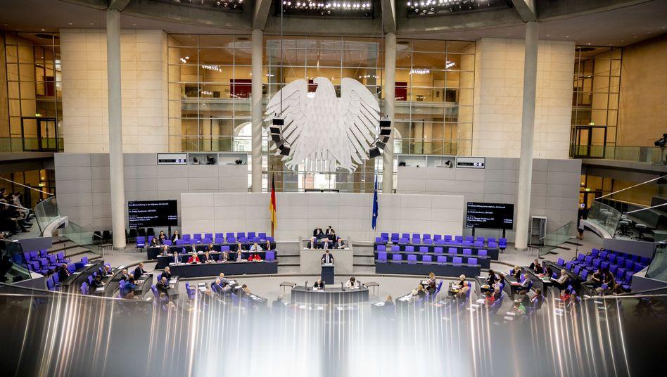 """Deutscher Bundestag: """"Vor lauter Terminen kaum noch Zeit hat, mal in Ruhe über etwas nachzudenken"""""""