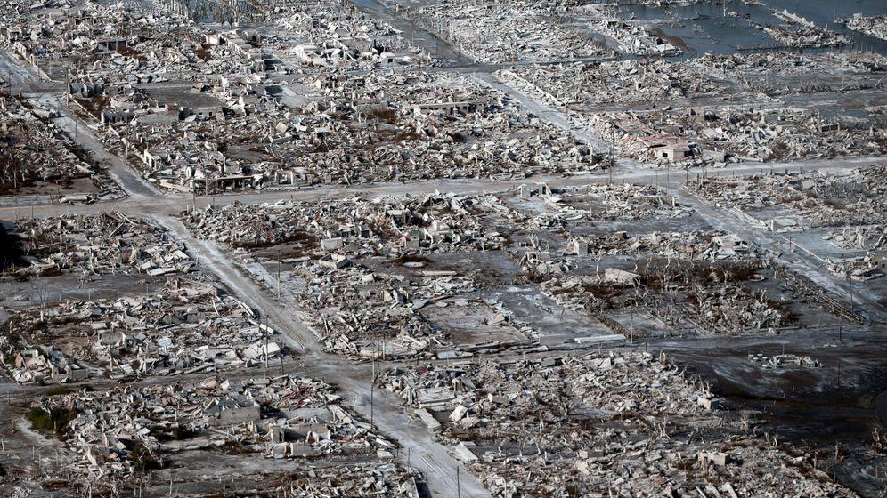 Vierteljahrhundert unter Wasser: Die Ruinen von Epecuén