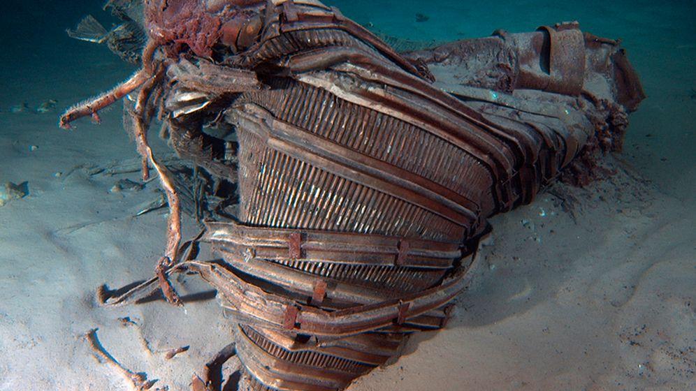 """Blog """"Ausgegraben"""": Apollo-Triebwerke aus Atlantik geborgen"""
