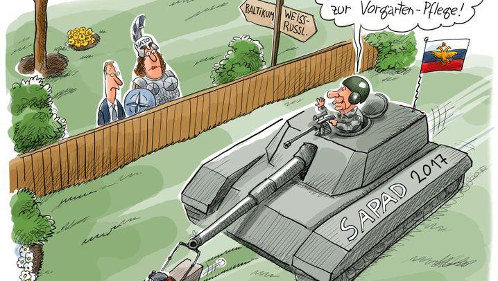 Fotostrecke: Wenn Putin spricht