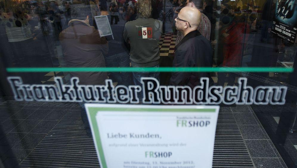 """Insolvenzantrag: """"Frankfurter Rundschau"""" steht vor dem Aus"""