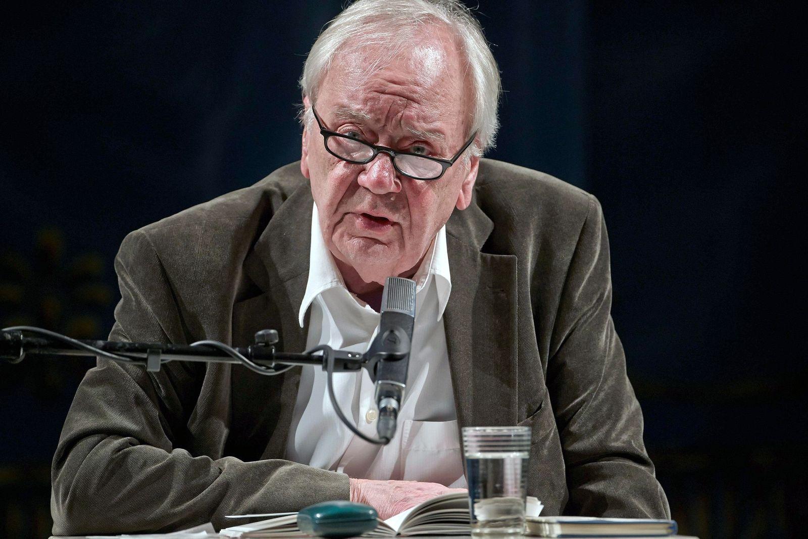 EINMALIGE VERWENDUNG Büchner-Preis/ Jürgen Becker