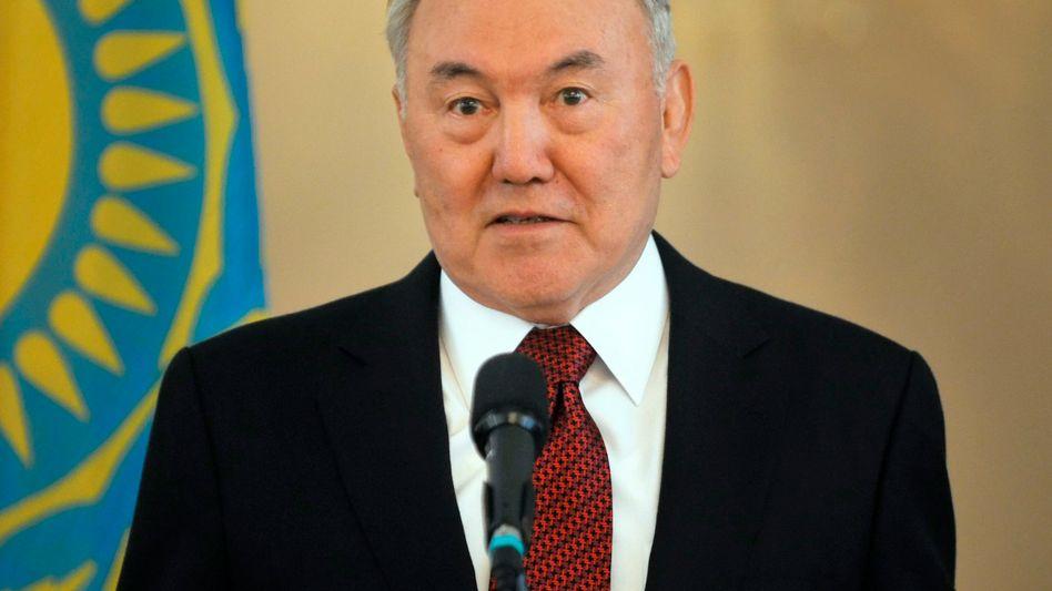 Präsident Nasarbajew: Der Staatschef erspart sich Wahlen