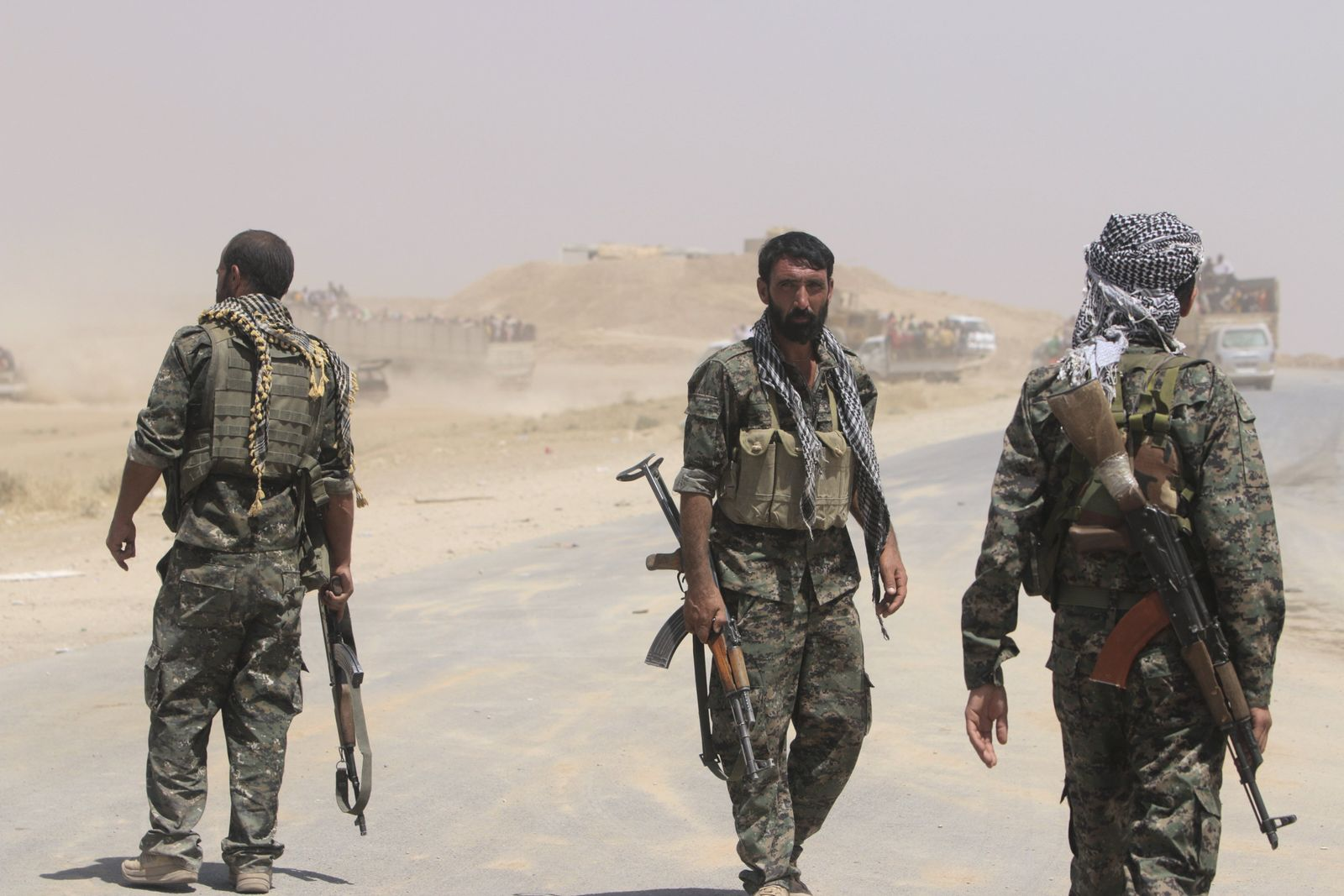 Irak / Kurdische Kämpfer