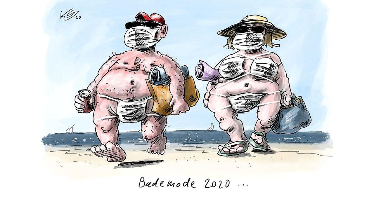 Cartoons der Woche: FFP statt FKK