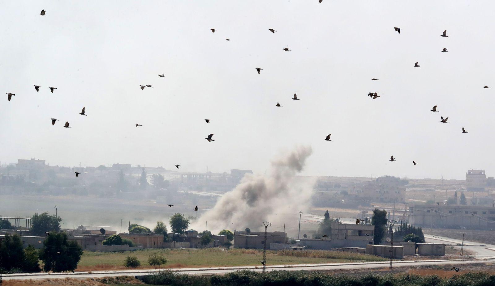 Syrien Explosion