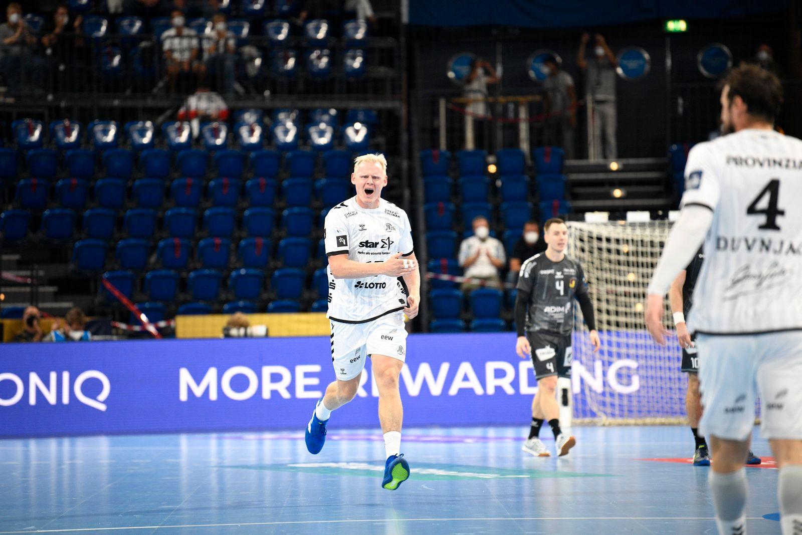Patrick Wiencek (THW Kiel, 17), Handball, Männer, THW Kiel vs HBC Nantes, Champions-League, 2. Spieltag, Gruppenphase, 2