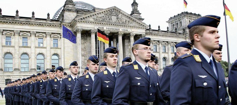 Rekruten der Bundeswehr
