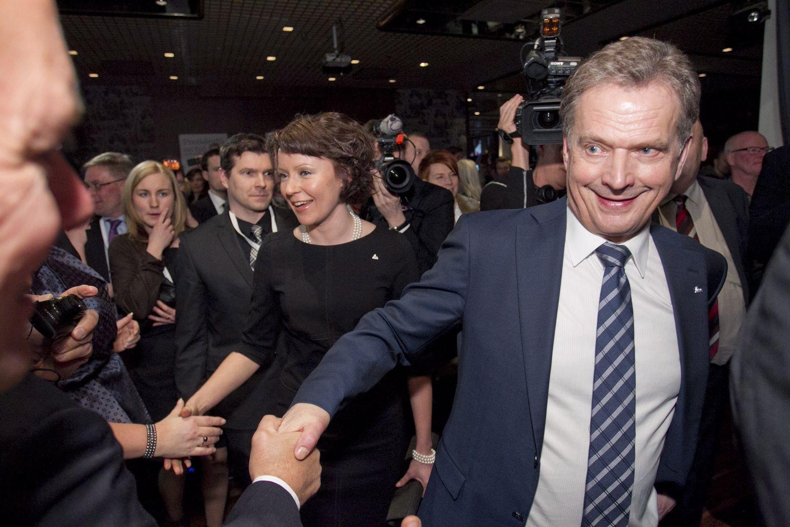 Sauli Niinistö Präsident Finnland