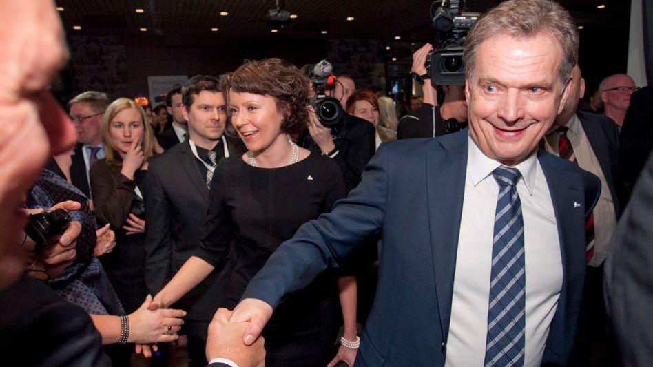 Euro-freundlicher Präsident: Sauli Niinistö, siegessicher kurz vor der Stichwahl