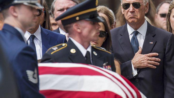 Trauerfeier in Delaware: Abschied von Beau Biden