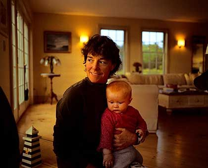 Im Kreis der Familie: Eigene Kinder hat Linda Greenlaw nicht, ihr Bruder schon