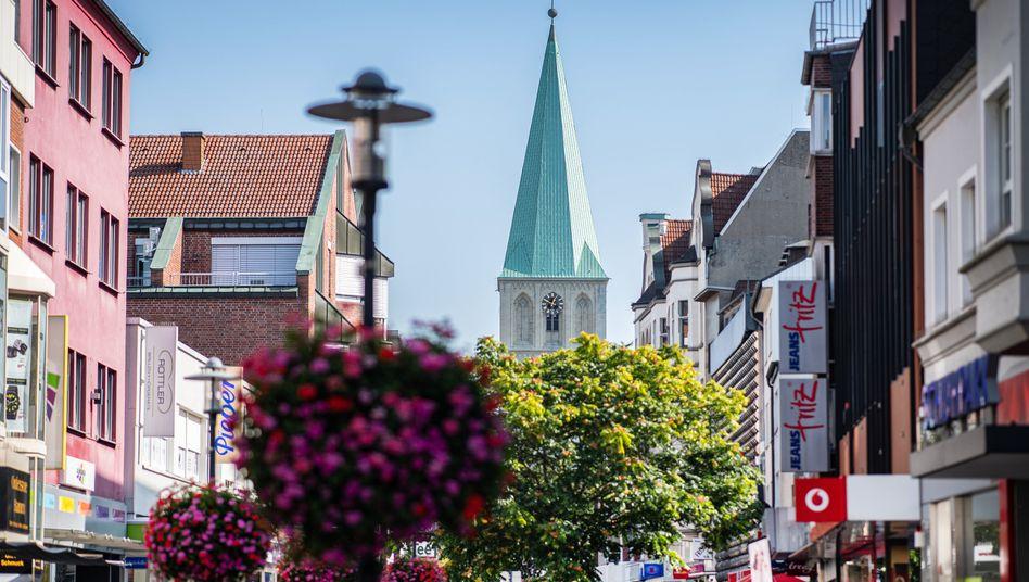 Fußgängerzone von Hamm