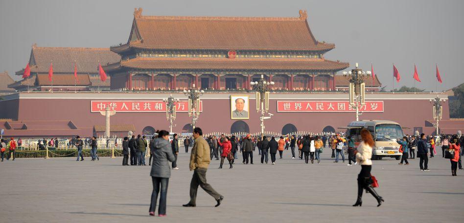 Platz des himmlischen Friedens in Peking: Angst vor Korruptionsvorwürfen