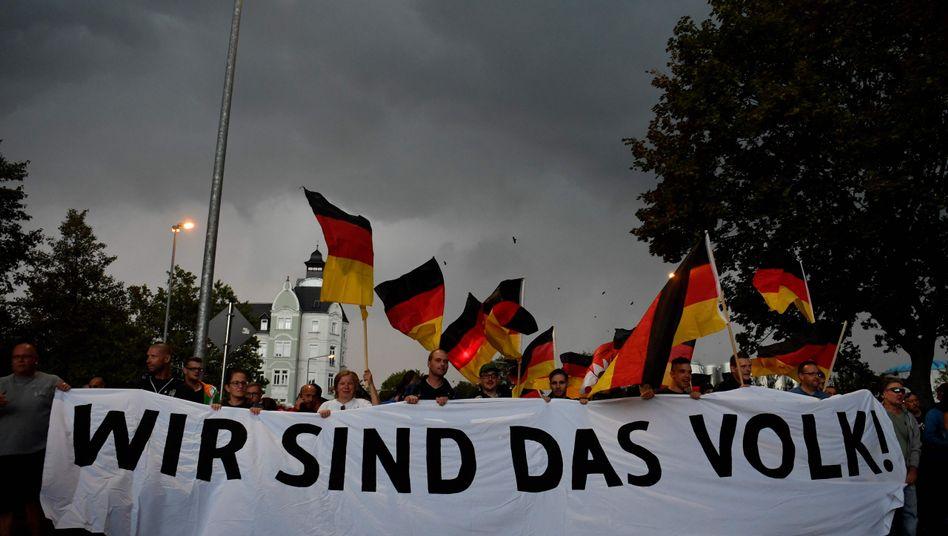 """Kundgebung von """"Pro Chemnitz"""" (am 7. September)"""